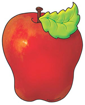 Red Apple - Image Clip Art