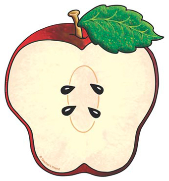 Sliced Apple - Image Clip Art