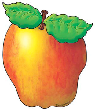Golden Apple - Image Clip Art