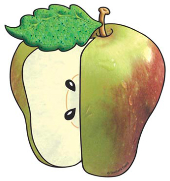 Green Apple - Image Clip Art