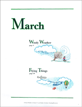 Windy Weather/Flying Things: March Hands-On Science - Printable Worksheet