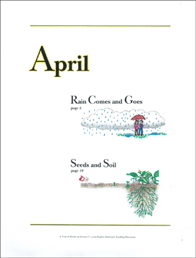 Rain Comes and Goes/Seeds and Soil: April Hands-On Science - Printable Worksheet
