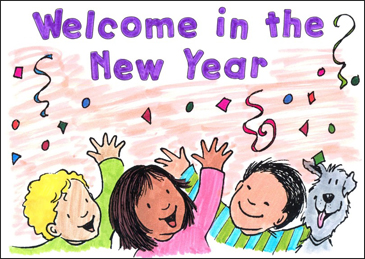 Welcome in the New Year - Printable Worksheet