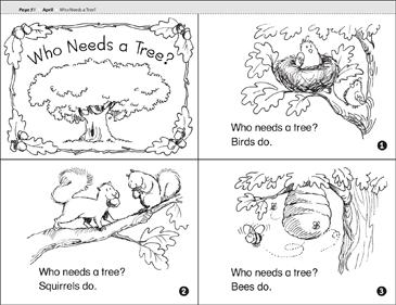 Who Needs a Tree? - Printable Worksheet