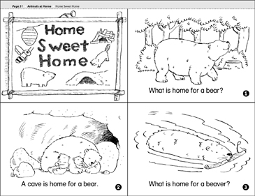 Home Sweet Home - Printable Worksheet