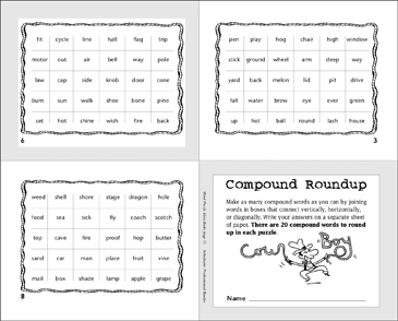 Compound Roundup - Printable Worksheet