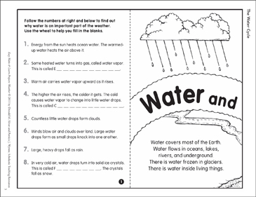 photograph relating to Water Cycle Printable identified as The Drinking water Cycle: Produce Master Job Printable Lesson