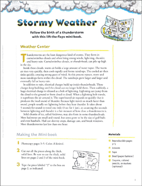 Stormy Weather: Make & Learn Project - Printable Worksheet
