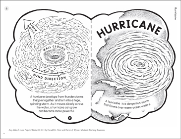 Hurricane: Make & Learn Project - Printable Worksheet