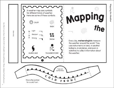 Mapping the Weather: Make & Learn Project - Printable Worksheet