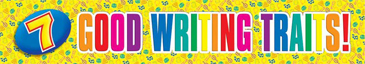 7 Good Writing Traits! - Image Clip Art