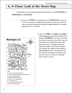 A Closer Look at the Street Map: Life Skills - Printable Worksheet