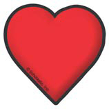 Red Heart - Image Clip Art