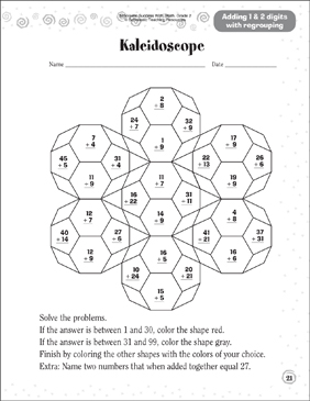 kaleidoscope activity coloring pages - photo#2