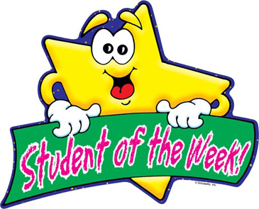 Student of the Week! - Image Clip Art