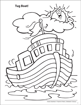 Free Printable Boat Coloring Pages For Kids Boats Ships Clipart ... | 365x281