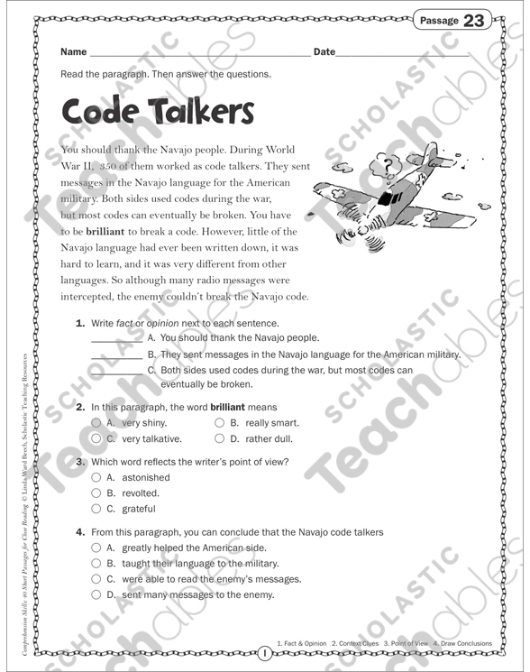 See Inside: Navajo Code Talkers Worksheet At Alzheimers-prions.com