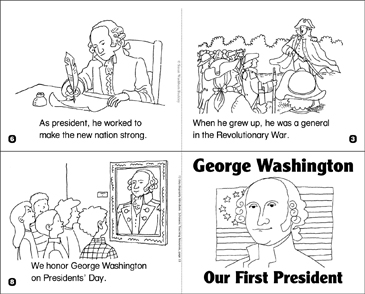photo about Printable Pictures of George Washington known as George Washington: Our Initially President Printable Mini-Publications