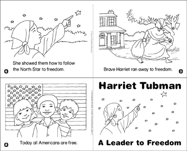 picture relating to Harriet Tubman Printable Worksheets referred to as Harriet Tubman: A Chief in the direction of Independence Printable Mini-Publications