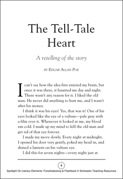 Plot Of The Tell Tale Heart