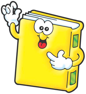 Yellow Book - Image Clip Art
