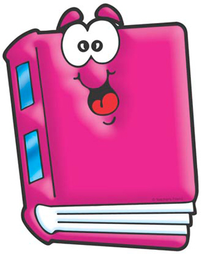 Pink Book - Image Clip Art