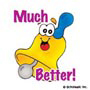 Much Better!: Mini-Sticker - Image Clip Art