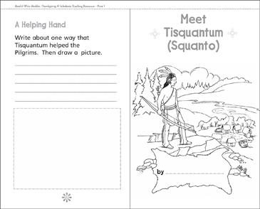 Meet Squanto - Printable Worksheet