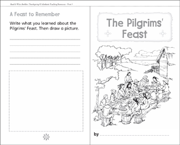 The First Thanksgiving - Printable Worksheet