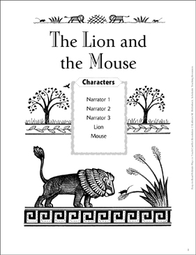 graphic about The Lion and the Mouse Story Printable identify The Lion and the Mouse: A Conflict Alternative Folktale Participate in