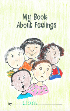 graphic relating to Feelings Book Printable named My E-book Over Emotions Printable Mini-Guides