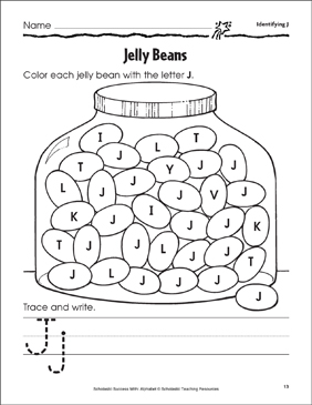 photograph relating to Jelly Belly Logo Printable called Jelly Beans (Analyzing J,j) Printable Techniques Sheets