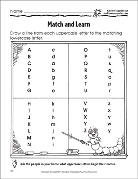 photograph relating to Lower Case Letters Printable named Video game and Understand (Examine: Uppercase and Lowercase Letters