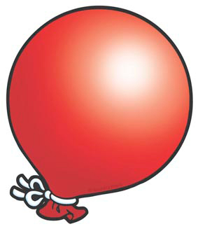 Red Balloon - Image Clip Art