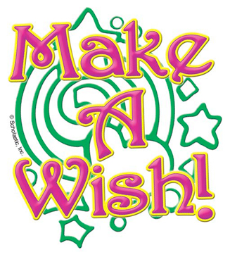 Make a Wish! - Image Clip Art
