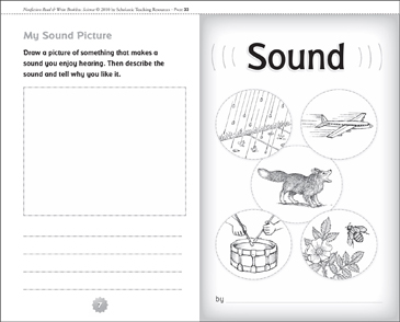 Sound - Printable Worksheet