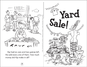 Yard Sale! - Printable Worksheet