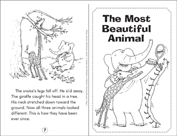 The Most Beautiful Animal - Printable Worksheet