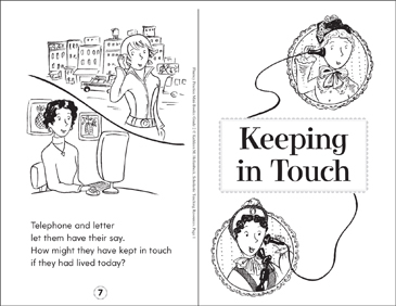Keeping in Touch - Printable Worksheet