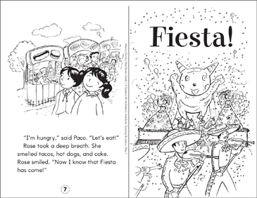 Fiesta! - Printable Worksheet