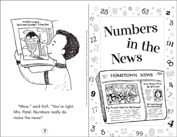 Numbers in the News - Printable Worksheet