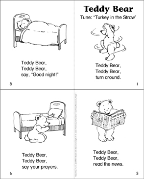 Teddy Bear - Printable Worksheet