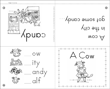A Cow: Beginning Sounds - Printable Worksheet