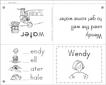 Wendy: Beginning Sounds - Printable Worksheet