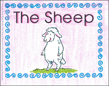 The Sheep (-eep word family) - Printable Worksheet