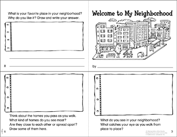 photograph about Welcome to the Neighborhood Printable referred to as Welcome in direction of My Nearby! Manipulative Mini-Ebook