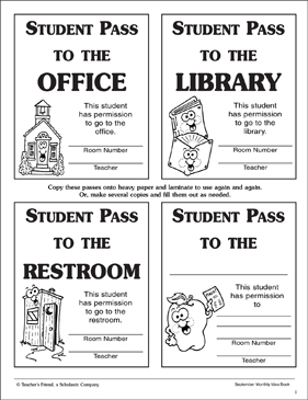 picture regarding Hall Passes Printable named Scholar Corridor Pes Printable Scholar Pes