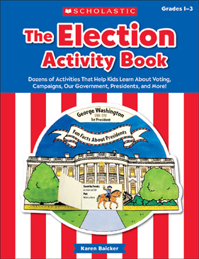 The Election Activity Book (2016) - Printable Worksheet