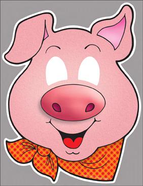 Three Little Pigs Clroom Play Masks