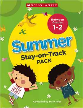 Summer Stay-on-Track Pack Between Grades 1 and 2 - Printable Worksheet
